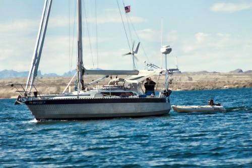 Desert Sailing with KA boat