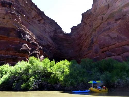 Vacation in Colorado River