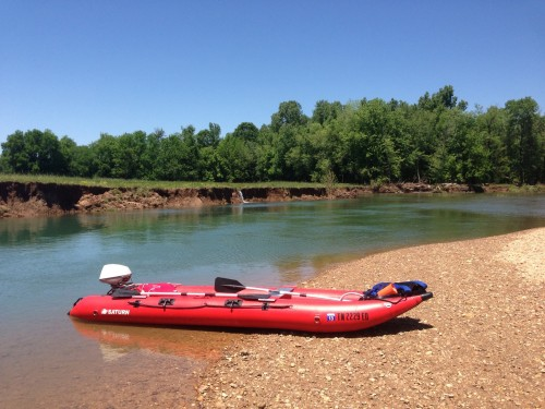 Kaboat on yellow creek