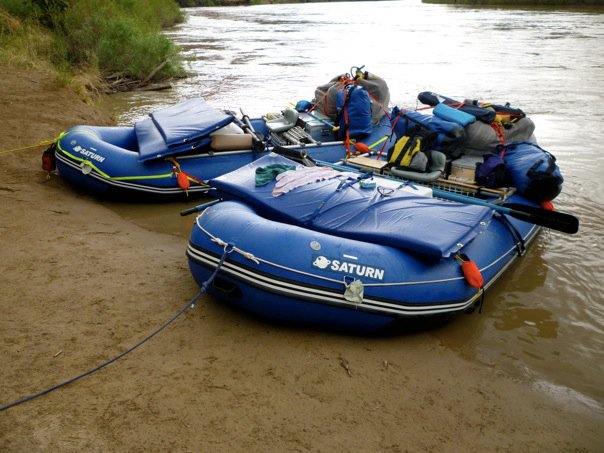 14' Saturn Rafts on the Colorado
