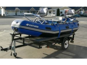 13' Saturn Raft - Fishing Frame