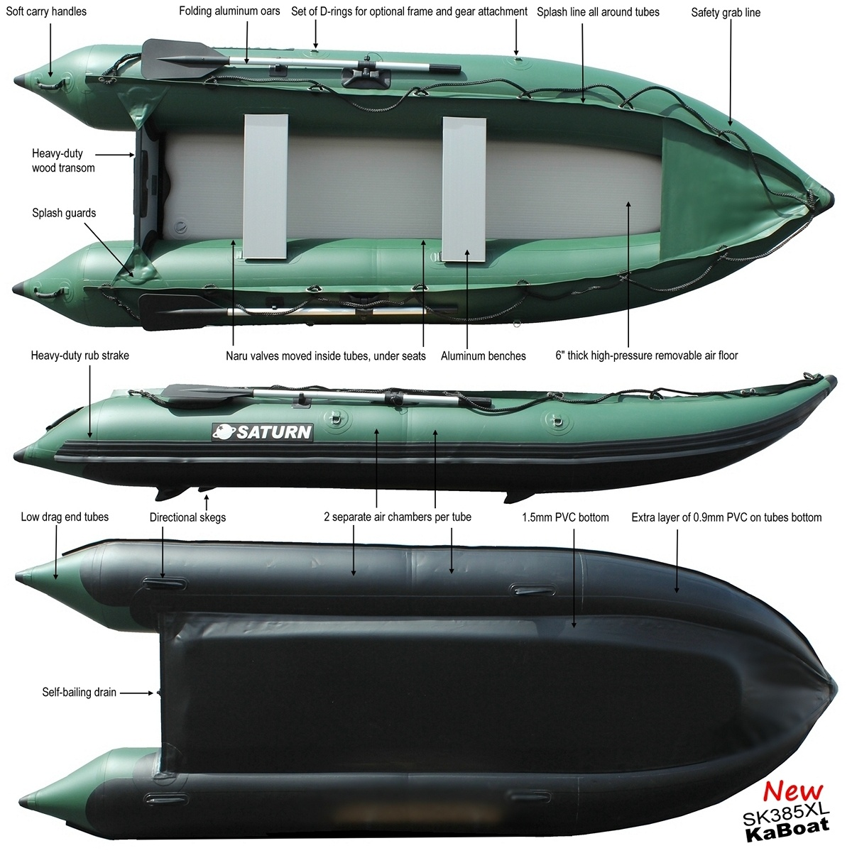 13' Saturn XL KaBoat. 13' XL KaBoat (Alaska)