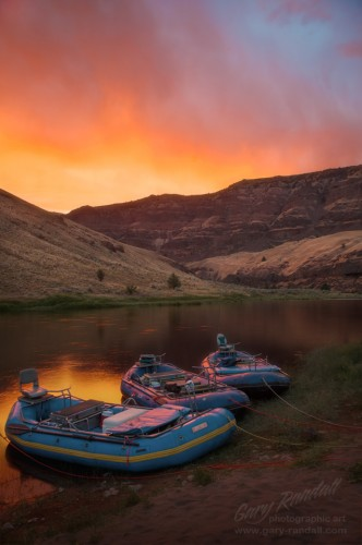 John Day River Sunrise