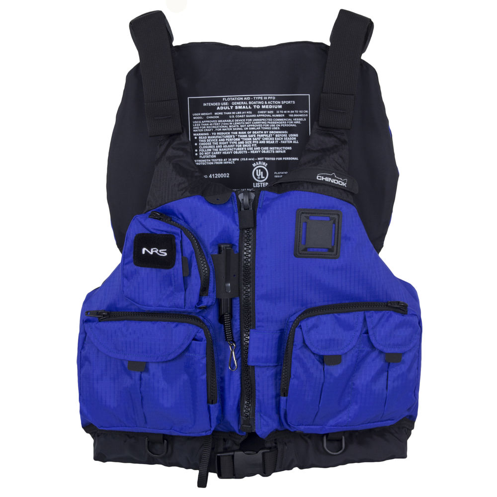 Get Nrs Chinook Mesh Back Fishing Pfd From Saturn Boats