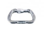 Omega Standard Locking D Carabiner. Safety & Rescue