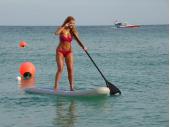 Transformer SUP  Kayak Paddle. Saturn Boats
