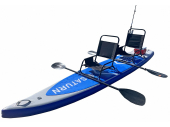 13.5' Inflatable Tandem Kayak SUP414. Saturn Inflatable SUP Boards
