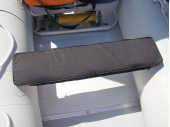 Under-seat storage bag wCushion. Saturn Boats
