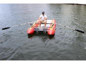 Folding Rowing Frame. Saturn Boats