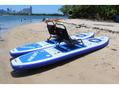 11' Double SUPs Catamaran. Saturn Inflatable SUP Boards