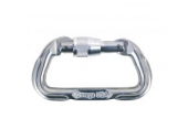 Omega Standard Locking D Carabiner. Safety & Rescue