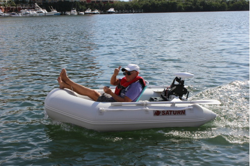 "7'6"" Saturn Dinghy Tender. 7'6"" Dinghy Tender"