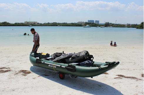 13' Ocean Fishing Kayak. 13' Ocean Fishing Kayak