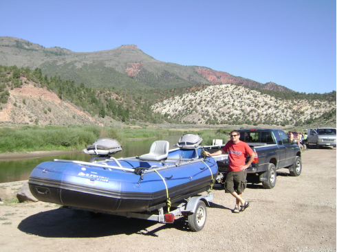 15' Saturn Whitewater Raft. 15' Raft