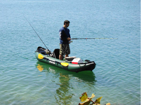 13' Saturn Fishing Kayak. Inflatable Kayaks