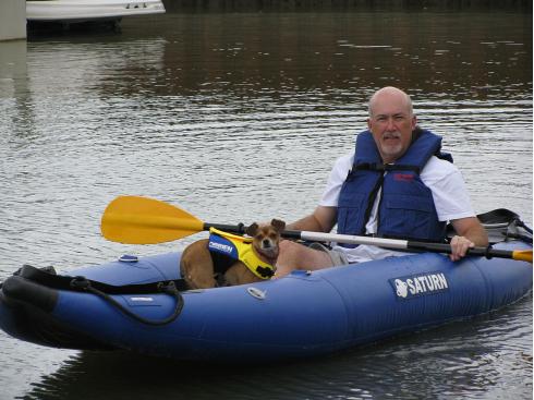 13' Saturn Expedition Kayak. Inflatable Kayaks