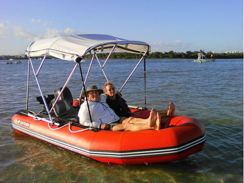 13' Saturn Inflatable Boat. 13' Dinghy Tender