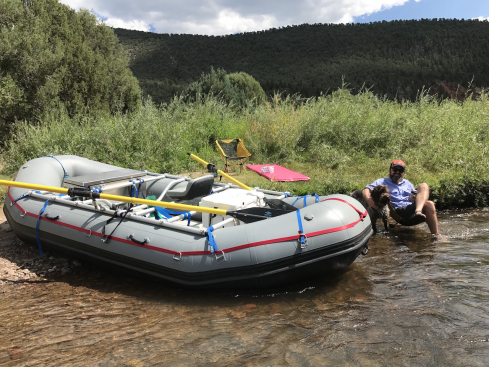 14' Saturn Whitewater Raft. 14' Raft