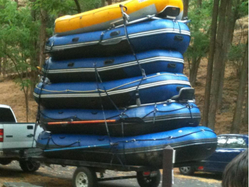 16' Saturn Whitewater Raft. 16' Raft