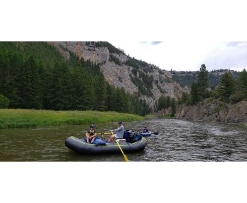 "14'8"" Triton Whitewater Raft. 14'8"" Triton Raft"